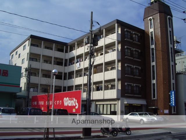 広島県広島市西区、横川駅徒歩15分の築36年 5階建の賃貸マンション