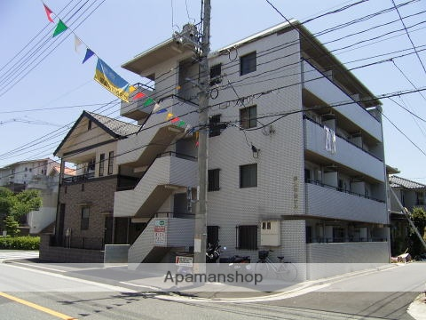 広島県広島市西区、高須駅徒歩20分の築30年 4階建の賃貸マンション