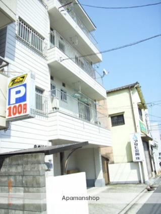 広島県広島市西区、横川駅徒歩10分の築38年 4階建の賃貸マンション