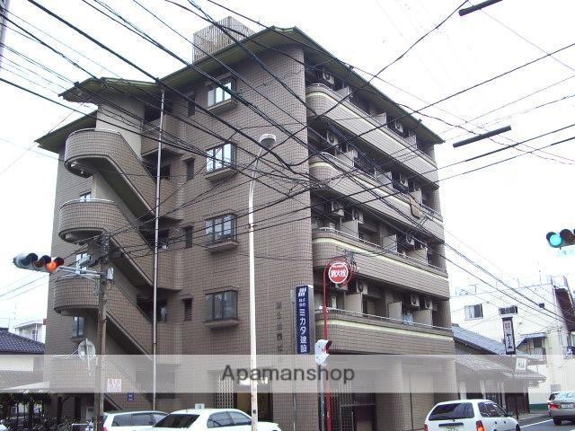 広島県広島市西区、横川駅徒歩13分の築27年 5階建の賃貸マンション
