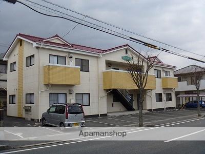 岡山県笠岡市の築19年 2階建の賃貸アパート