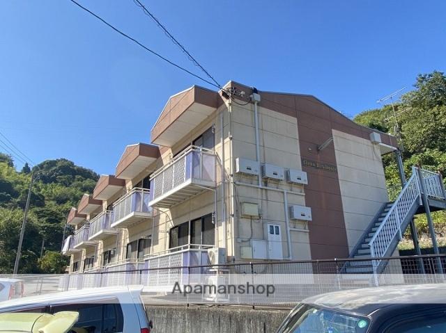 広島県江田島市の築17年 2階建の賃貸アパート