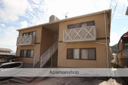 広島県呉市の築25年 2階建の賃貸アパート