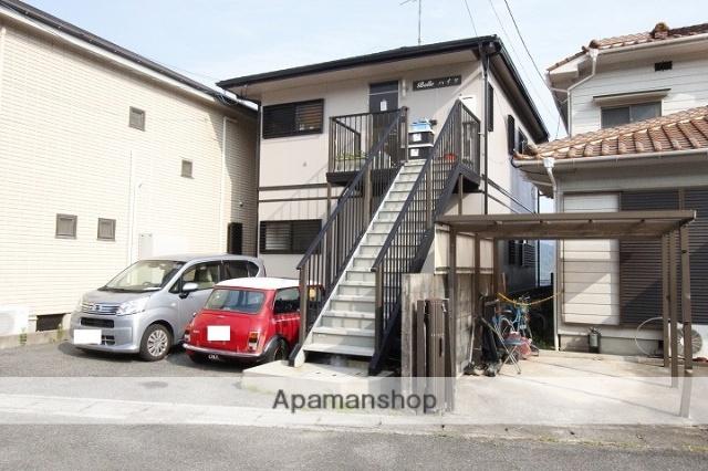 広島県呉市、安芸川尻駅徒歩10分の築21年 2階建の賃貸アパート
