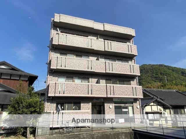 広島県江田島市の築20年 4階建の賃貸マンション