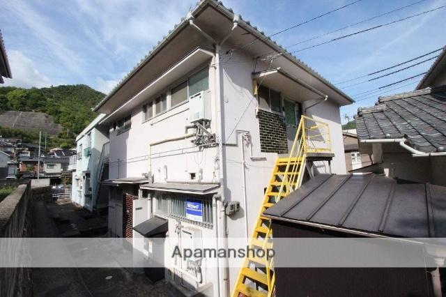 広島県呉市、吉浦駅徒歩8分の築40年 2階建の賃貸アパート