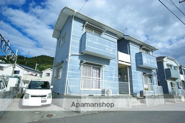 広島県呉市、仁方駅徒歩2分の築20年 2階建の賃貸アパート