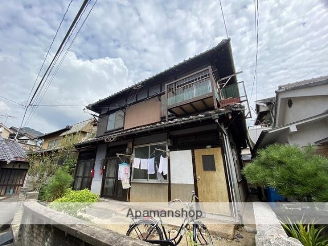 広島県呉市、川原石駅徒歩3分の築42年 2階建の賃貸アパート