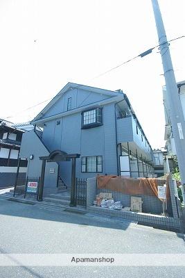広島県呉市、仁方駅徒歩3分の築25年 2階建の賃貸アパート