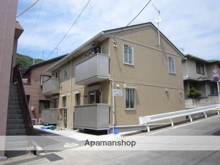 広島県呉市、新広駅徒歩20分の築2年 2階建の賃貸アパート