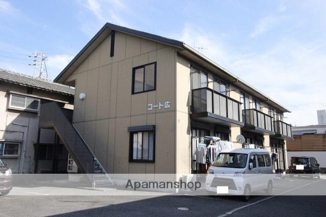 広島県呉市の築18年 2階建の賃貸アパート
