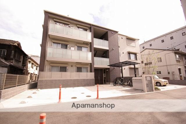広島県呉市、呉駅徒歩11分の新築 3階建の賃貸マンション