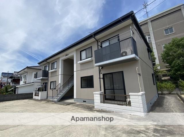 広島県江田島市の築18年 2階建の賃貸アパート