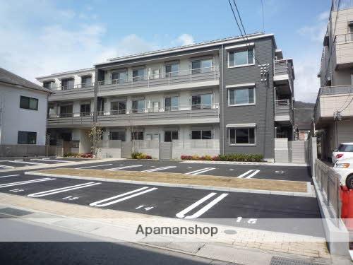 広島県呉市、川原石駅徒歩25分の新築 3階建の賃貸アパート