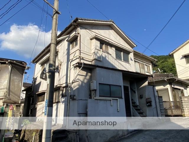 広島県呉市の築48年 2階建の賃貸アパート