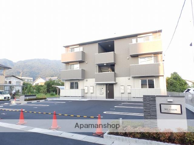 広島県呉市、広駅徒歩5分の新築 3階建の賃貸アパート