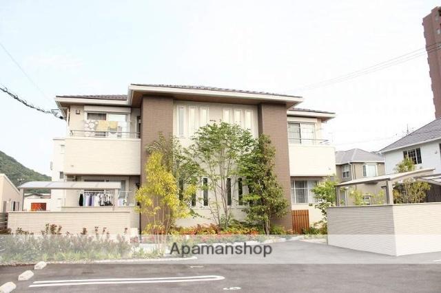 広島県呉市、広駅徒歩4分の新築 2階建の賃貸アパート