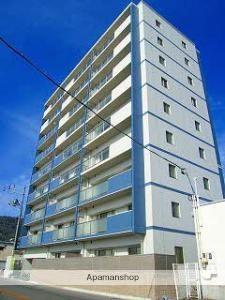 広島県呉市、呉駅徒歩26分の築6年 9階建の賃貸マンション