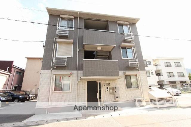 広島県呉市、新広駅徒歩3分の新築 3階建の賃貸アパート
