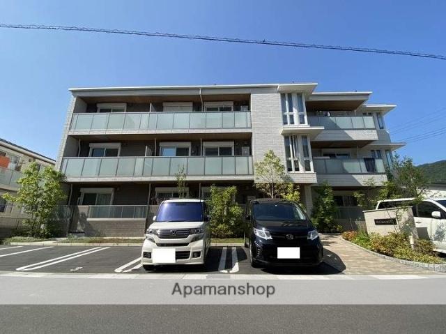 広島県呉市、広駅徒歩4分の新築 3階建の賃貸マンション