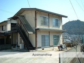 広島県呉市の築39年 2階建の賃貸アパート