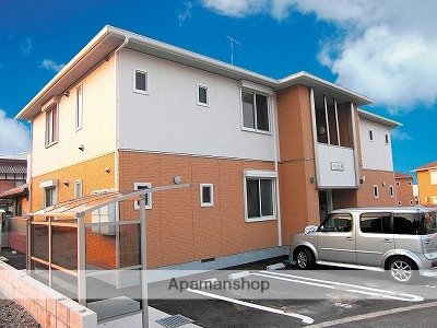 広島県安芸郡熊野町の築8年 2階建の賃貸アパート