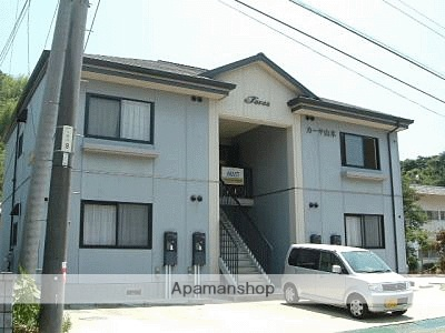 広島県江田島市の築19年 2階建の賃貸アパート
