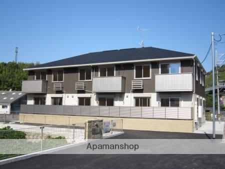 広島県呉市、呉ポートピア駅徒歩10分の築5年 2階建の賃貸アパート