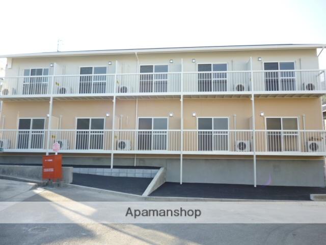 広島県江田島市の築4年 2階建の賃貸アパート