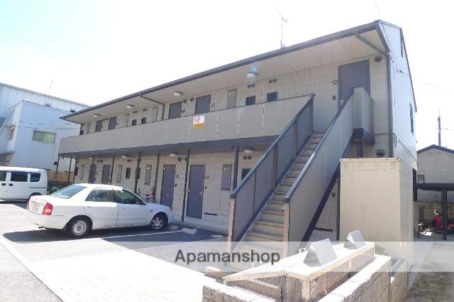 広島県広島市佐伯区の築16年 2階建の賃貸アパート