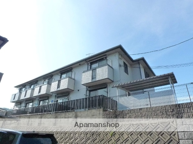 広島県広島市佐伯区の築18年 2階建の賃貸アパート