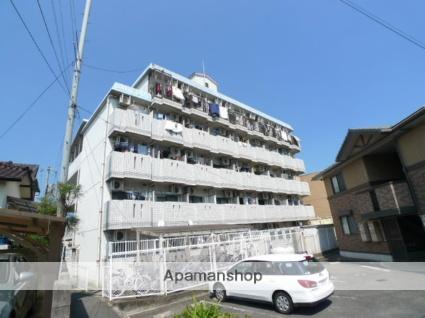 広島県広島市佐伯区、楽々園駅徒歩17分の築28年 5階建の賃貸マンション