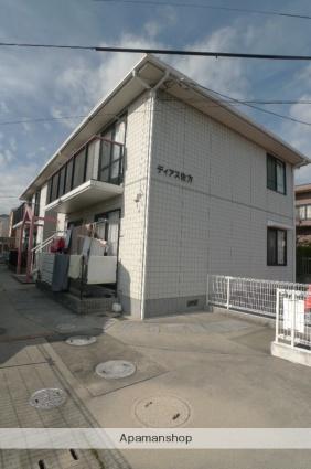 広島県廿日市市、廿日市駅徒歩17分の築23年 2階建の賃貸アパート