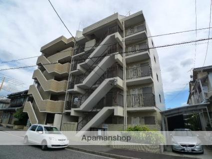 広島県広島市西区、草津駅徒歩8分の築29年 5階建の賃貸マンション