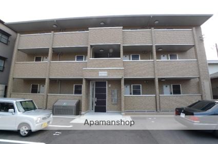 広島県広島市佐伯区、楽々園駅徒歩8分の築8年 3階建の賃貸アパート