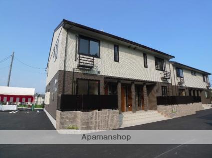 広島県廿日市市、JA広島病院前駅徒歩18分の築1年 2階建の賃貸アパート