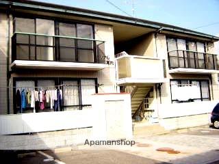 広島県廿日市市の築22年 2階建の賃貸アパート