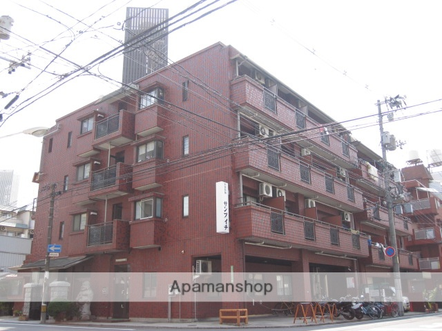 広島県広島市西区、観音町駅徒歩10分の築28年 4階建の賃貸マンション