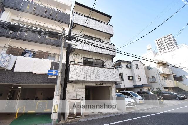広島県広島市中区、比治山下駅徒歩7分の築18年 4階建の賃貸マンション