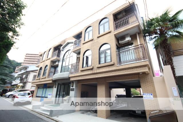 広島県広島市南区、的場町駅徒歩16分の築23年 4階建の賃貸マンション
