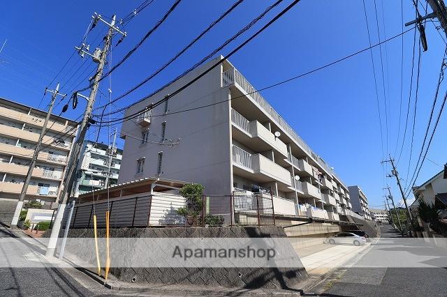 広島県広島市西区、新井口駅徒歩16分の築34年 4階建の賃貸マンション