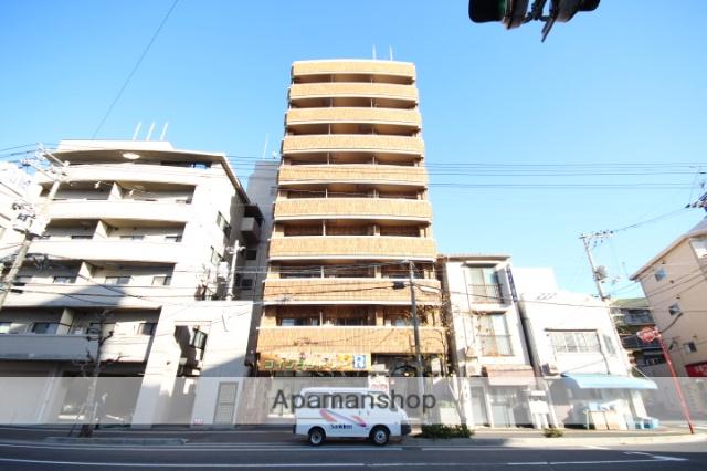 広島県広島市中区、広電本社前駅徒歩14分の築23年 9階建の賃貸マンション