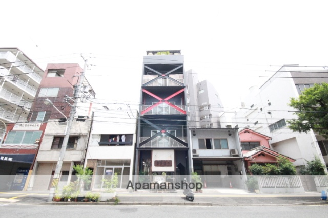 広島県広島市中区、日赤病院前駅徒歩9分の築16年 5階建の賃貸マンション