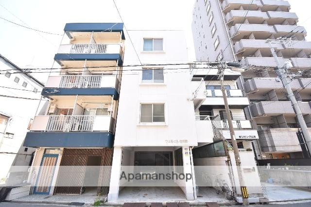 広島県広島市中区、鷹野橋駅徒歩8分の築36年 4階建の賃貸マンション