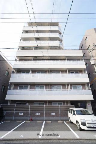 広島県広島市東区、白島駅徒歩19分の築16年 8階建の賃貸マンション