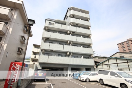 広島県広島市安佐南区、大町駅徒歩10分の築20年 7階建の賃貸マンション