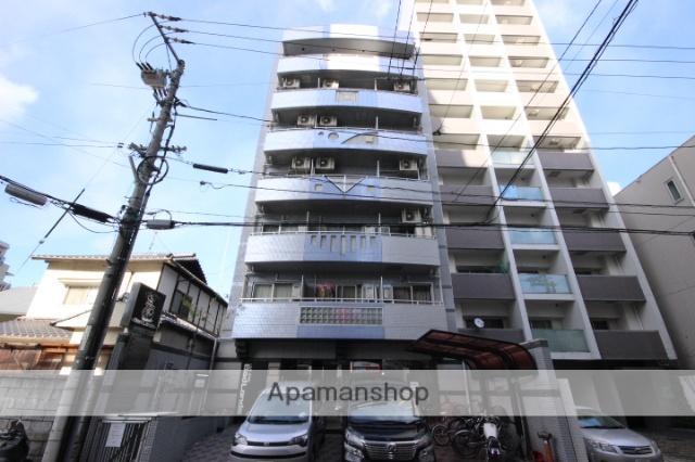 広島県広島市中区、城北駅徒歩8分の築23年 7階建の賃貸マンション