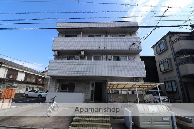 広島県広島市南区、県病院前駅徒歩13分の築28年 3階建の賃貸マンション