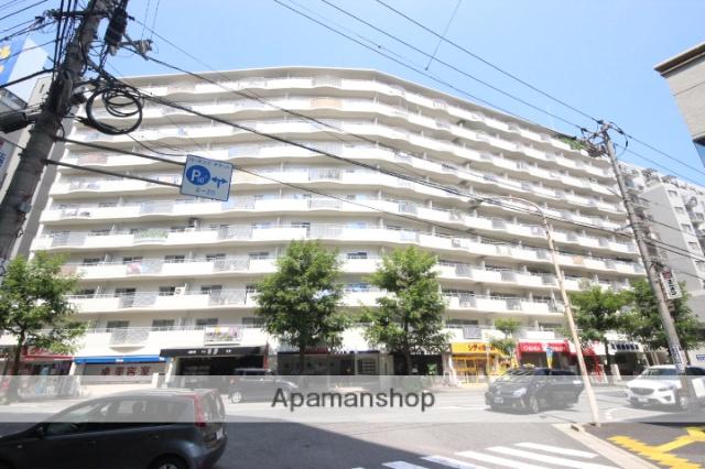 広島県広島市東区、広島駅徒歩4分の築41年 13階建の賃貸マンション