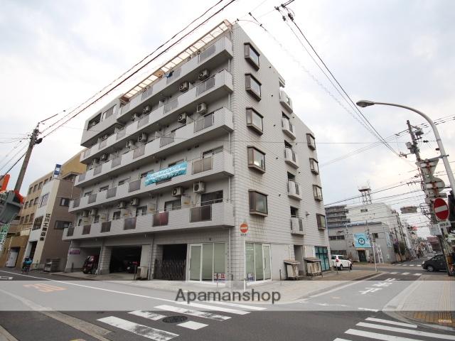 広島県広島市南区、県病院前駅徒歩5分の築28年 6階建の賃貸マンション